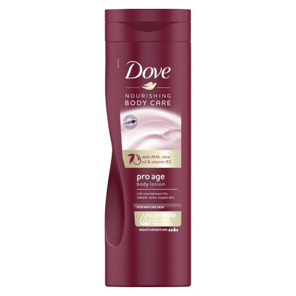 Dove Pro Age Body Lotion Nourishing Body Moisturiser