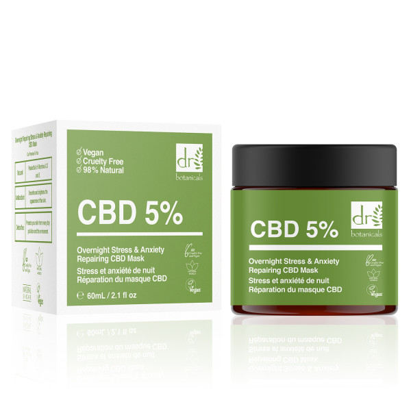 Dr Botanicals Apothecary Overnight Repairing Stress & Anxiety CBD Mask