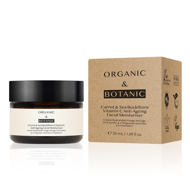 Dr Botanicals Organic & Botanic Carrot & Sea Buckthorne Moisturiser