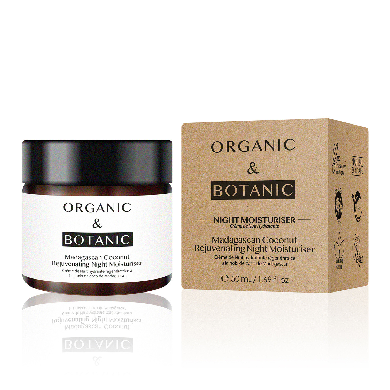 Dr Botanicals Organic & Botanic Madagascan Coconut Rejuvenating Night Moisturiser