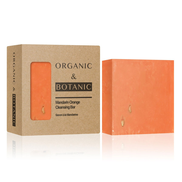 Dr Botanicals Organic & Botanic Mandarin Orange Cleansing Bar