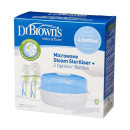 Dr Browns Microwave Steriliser + 2  270ml Bottles