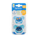 Dr Browns Prevent Soother 6-12 Month Blue