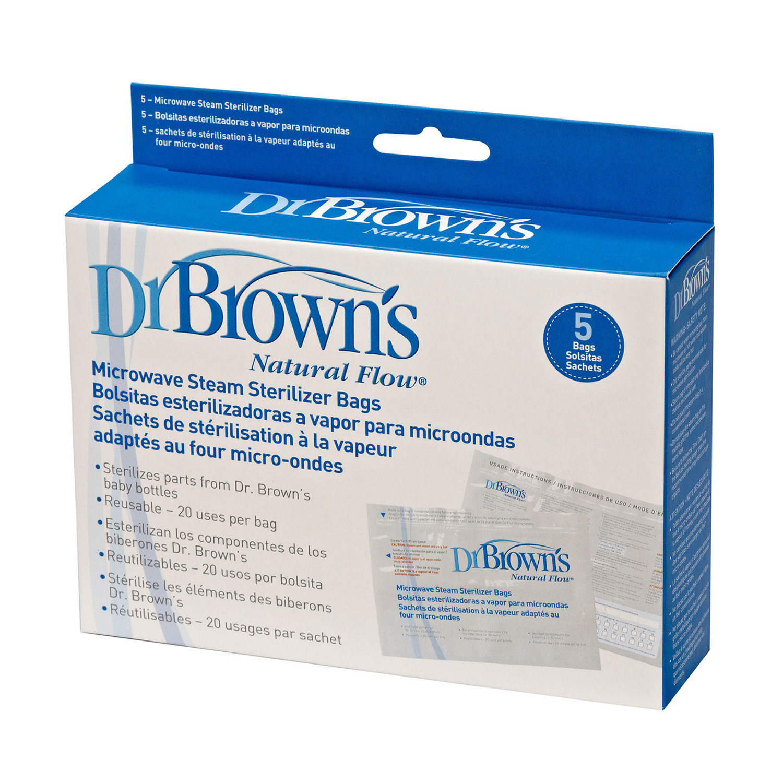 Dr Brown's Microwave Steriliser Bags