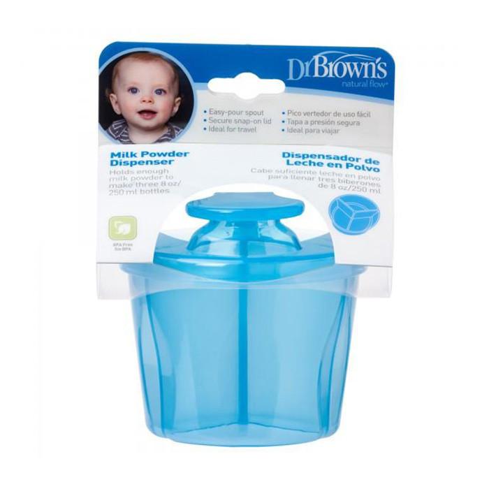 Dr Browns Milk Powder Dispenser Blue