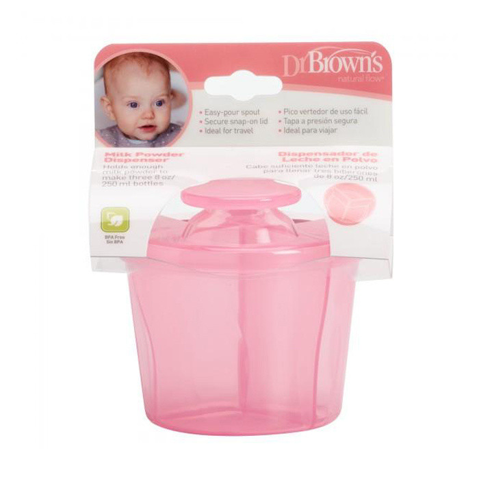 Click to view product details and reviews for Dr Browns Milk Powder Dispenser Pink.