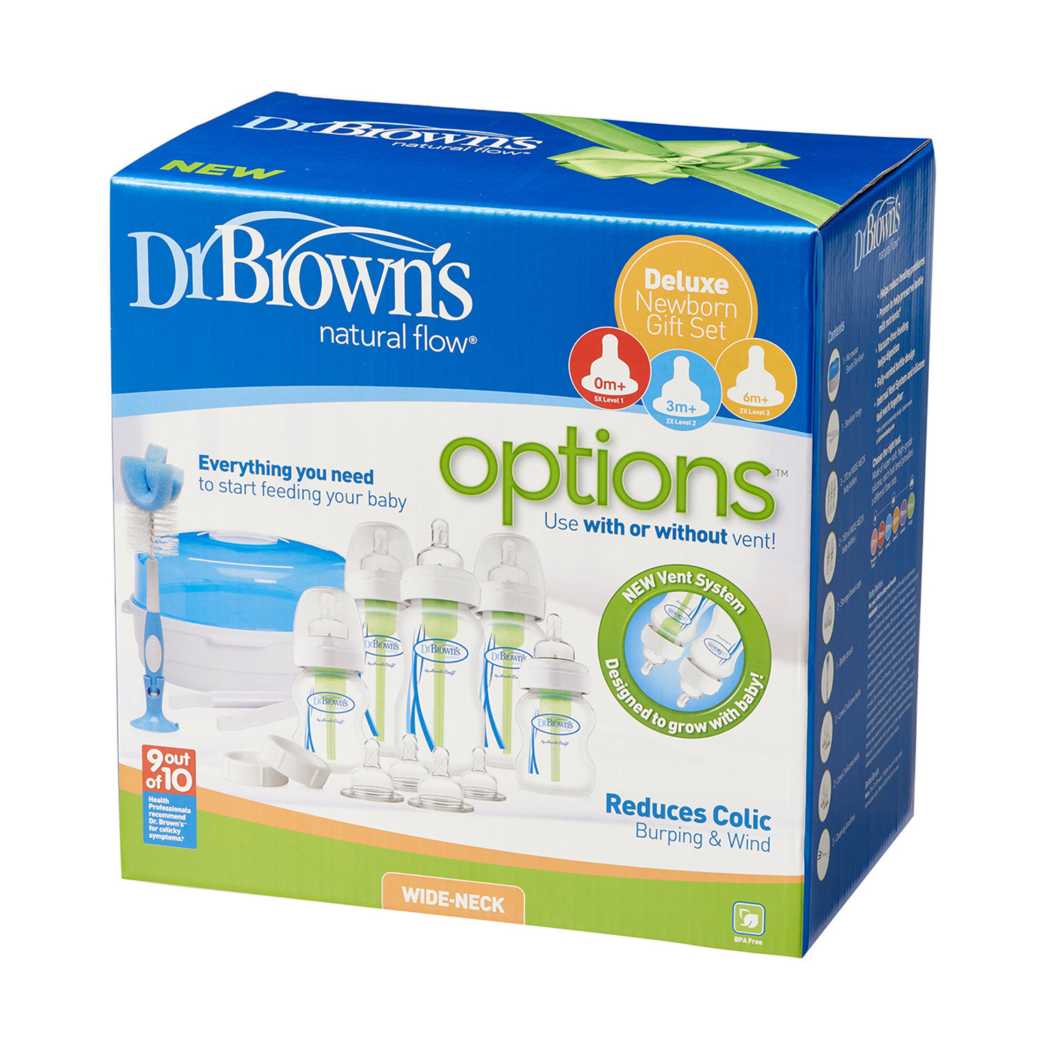 Click to view product details and reviews for Dr Browns Options Newborn Gift Set.