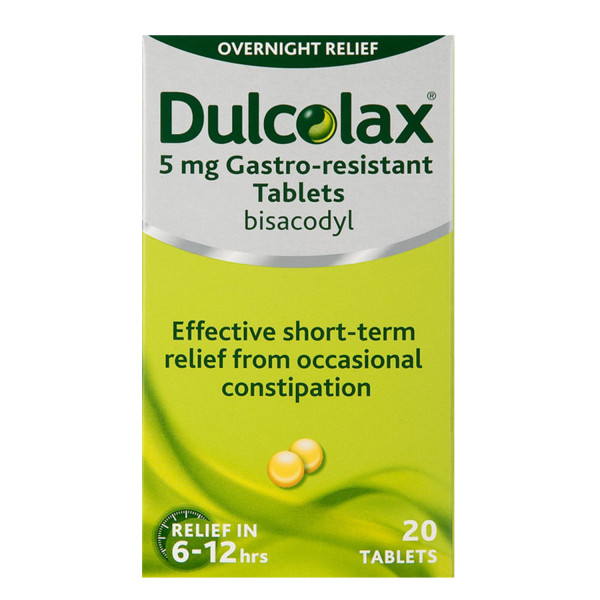 Dulcolax Tablets (18 Years Plus)