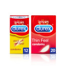 Durex Natural Feel Condom Bundle