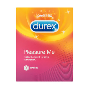 Durex Pleasure Me Condoms