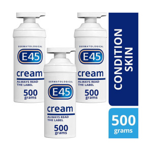 E45 Cream Pump Triple Pack