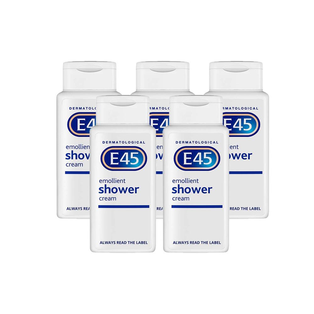 E45 Shower Cream - 5 Pack