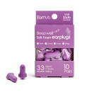 Earhub Sleepwell Purple Soft Foam Earplugs