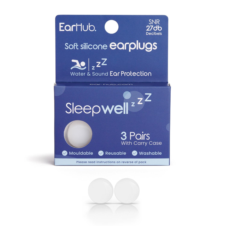 Earhub Sleepwell Soft Silicone Earplug