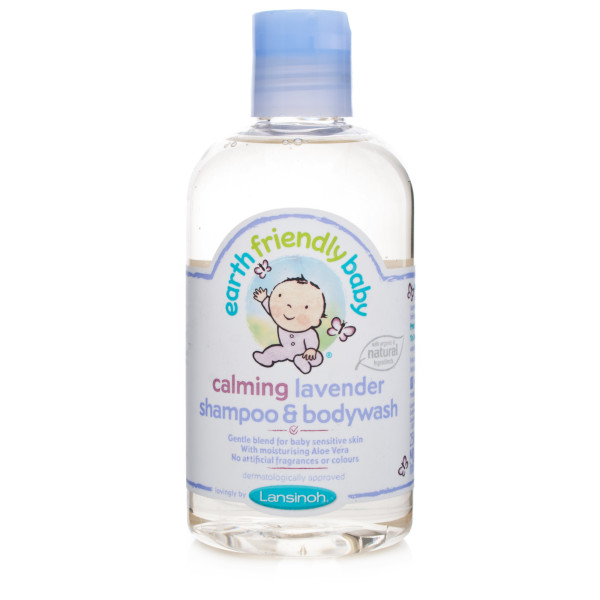 Earth Friendly Baby Lavender Shampoo & Bodywash