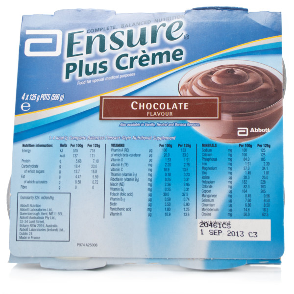 Ensure Plus Creme Chocolate