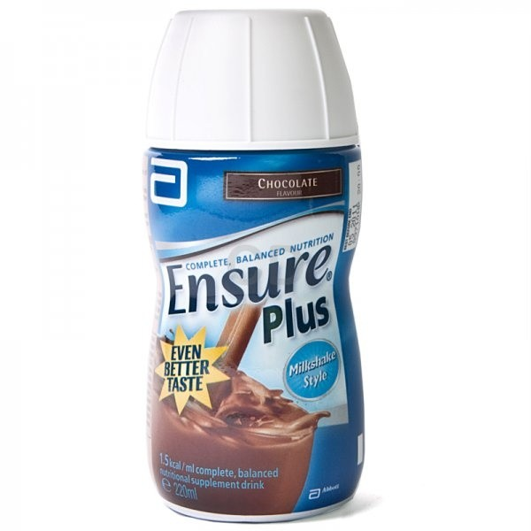 Ensure Plus Chocolate 200ml - 24 Pack