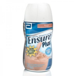 Ensure Plus Milkshake Peach - 12 Pack