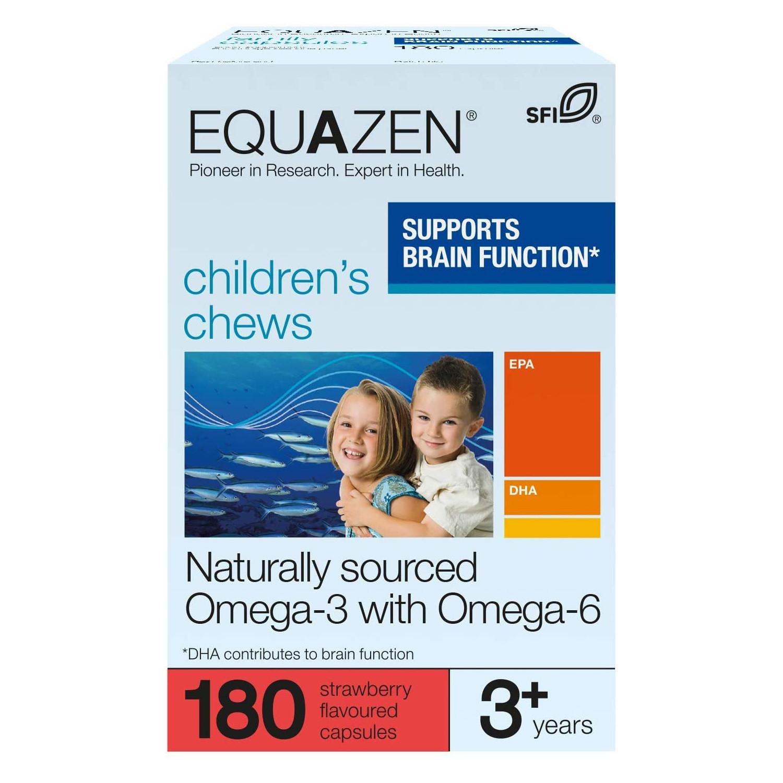 Equazen Children's Chews Strawberry Flavoured Capsules