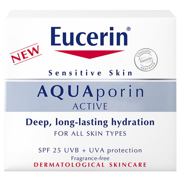Eucerin AQUAporin Active Day Cream SPF25 + UVA Protection