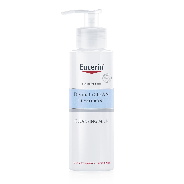 Eucerin DermatoCLEAN + Hyaluron Gentle Face Cleansing Milk