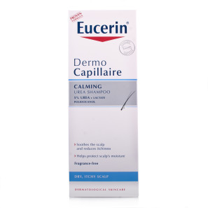 Eucerin Dry Scalp Relief Shampoo Dermo Capillaire with 5% Urea