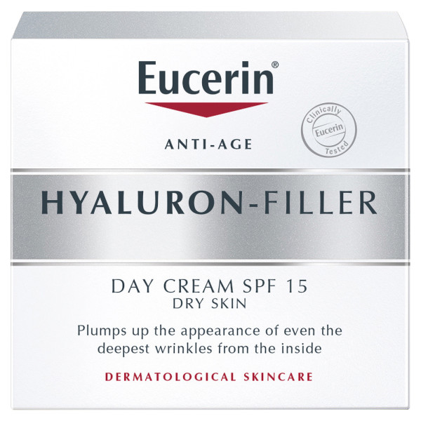 Eucerin Hyaluron-Filler Day Cream for Dry Skin SPF15