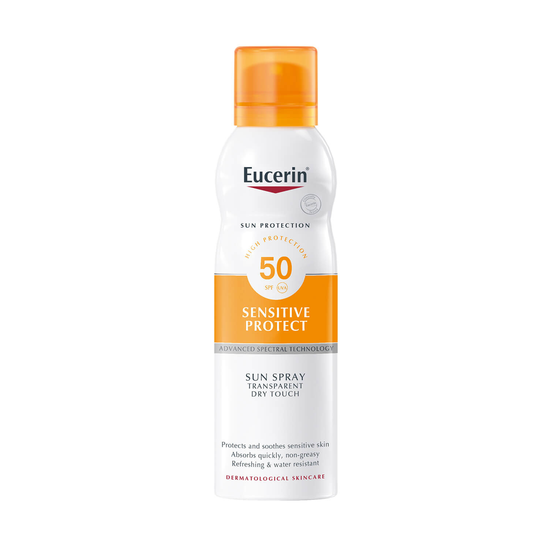 Eucerin Sensitive Protect Dry Touch Sun Protection Spray SPF50