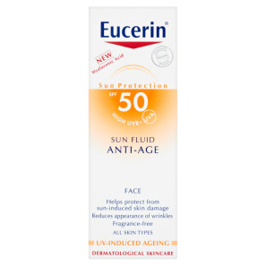 Eucerin Sun Fluid Anti Ageing Face SPF50