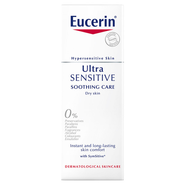 Eucerin UltraSENSITIVE Soothing Care Face Cream for Dry Skin