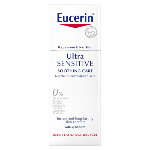 Eucerin UltraSENSITIVE Soothing Care Face Cream for Normal to Combination Skin
