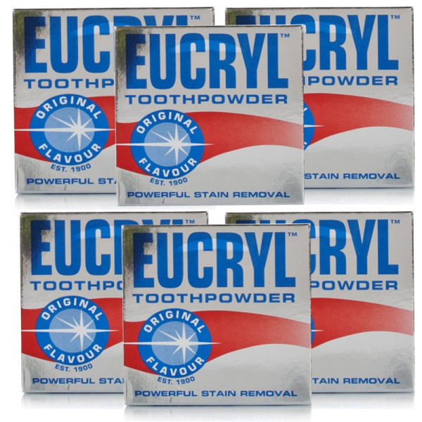 Eucryl Original Toothpowder - 6 Pack
