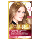 Excellence Natural Dark Caramel Blonde 7.31