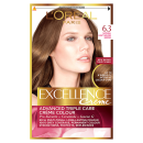 LOreal Excellence Creme 6.3 Light Golden Brown Hair Dye