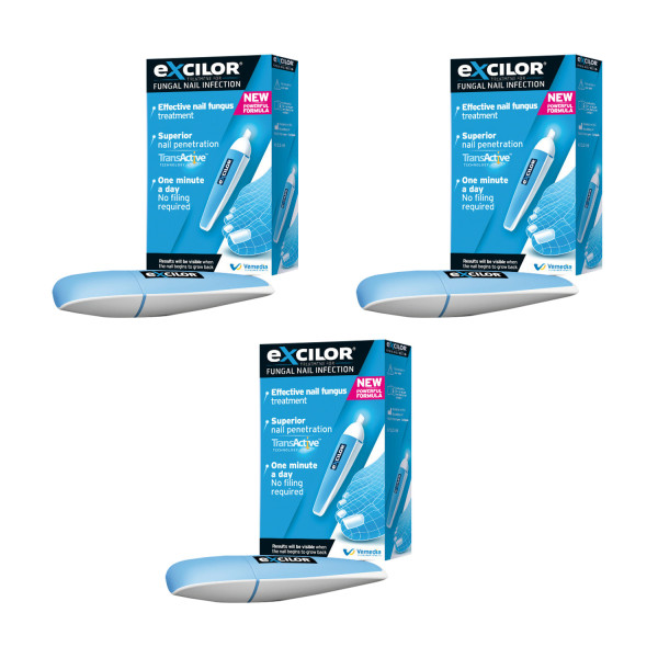 Excilor Fungal Nail Pen - Triple Pack