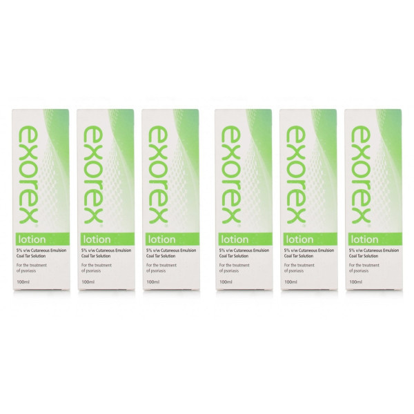 Exorex Lotion 5% - 6 Pack