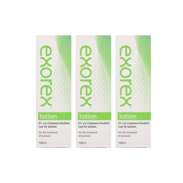 Exorex Lotion 5% Triple Pack