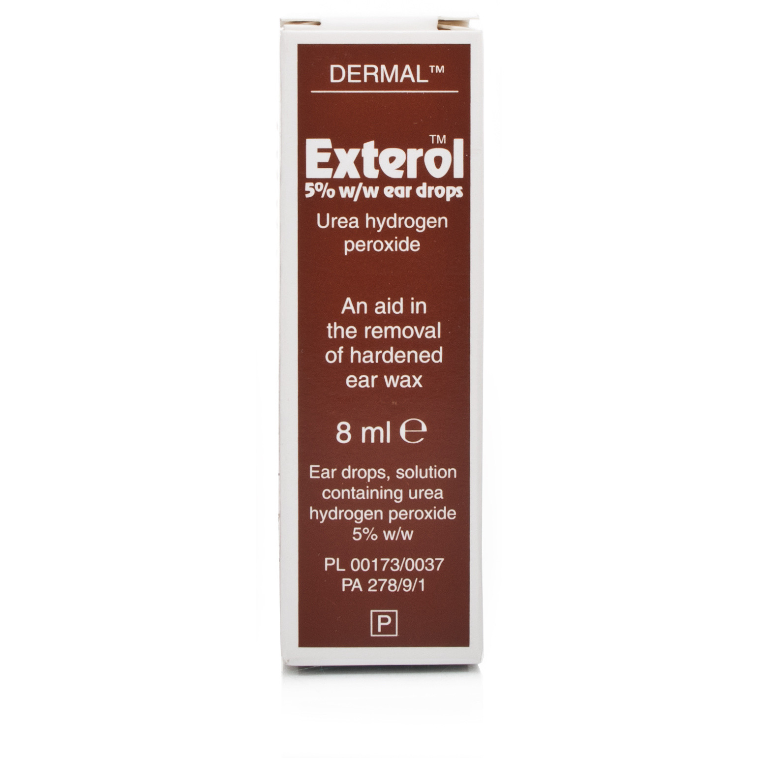 Exterol Ear Drops (Contain 5 Urea Hydrogen Peroxide)