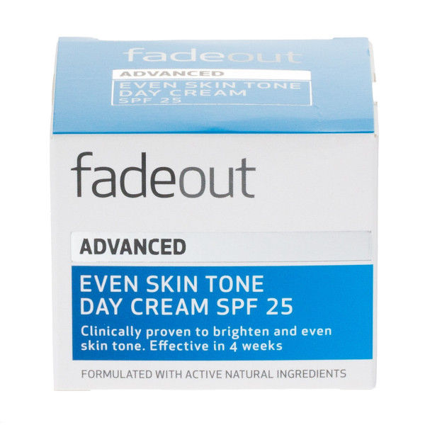 Fade Out Advanced Even Skin Tone Day Cream SPF25