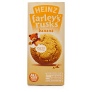 Farleys Rusks Reduced Sugar Banana Flavour 9 Pack