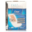 Fast Aid Clear Plasters