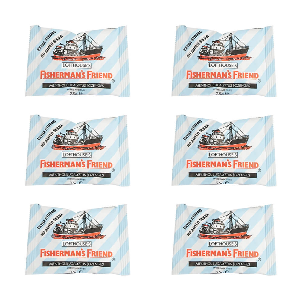 Fisherman's Friend Extra Strong -6Pack