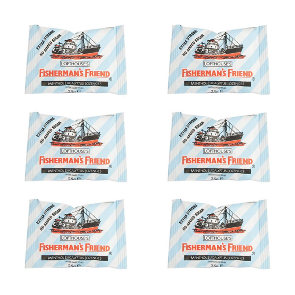 Fishermans Friend Original Lozenges 6 Pack