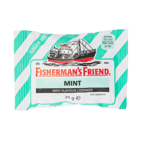 Fishermans Friend Mint Sugar Free Lozenges