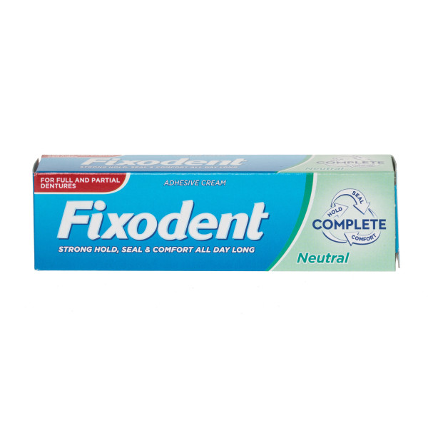 Fixodent Neutral Denture Adhesive Cream