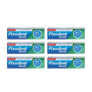 Fixodent Plus Dual Protection Premium Denture Adhesive Cream Six Pack