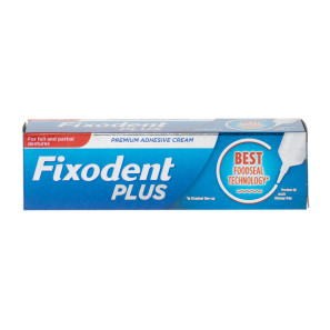 Fixodent Plus Food Seal Denture Adhesive Cream
