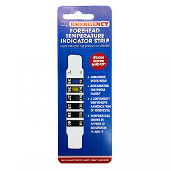 Forehead Temperature Indication Strip