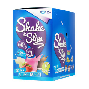 Forza Shake it Slim Chocolate 10 Pack EXP NOV 19
