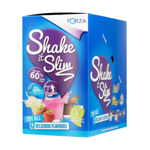 Forza Shake it Slim Strawberry 10 Pack EXP NOV19